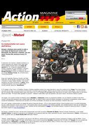 Press - In motocicletta nel cuore dell'Africa