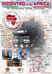 Incontro con l'Africa 2012 - Locandina del viaggio