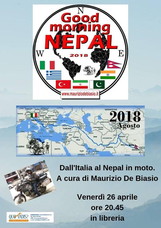 Serata Quo Vadis - Good Morning Nepal -
