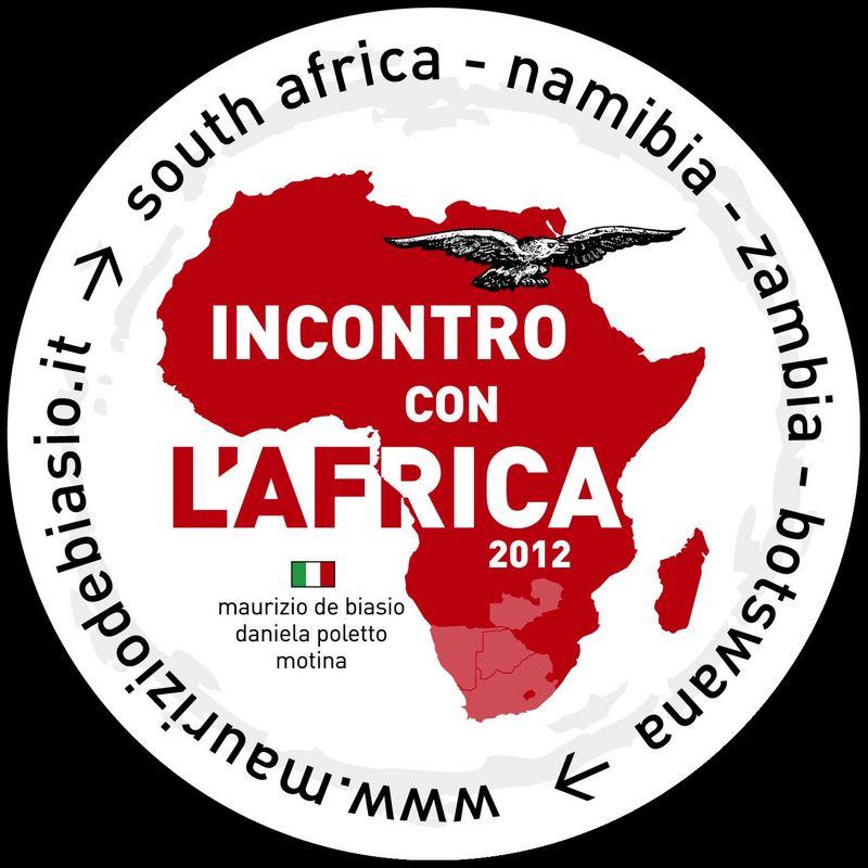 Incontro con l'Africa 2012 - Il logo: un' Aquila alla scoperta dell'Africa